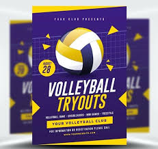 Babysitting Flyer Template Take One Flyer Template Volleyball Tryouts Flyer Template