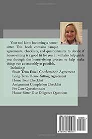 House Sitting Checklist House Sitters Tool Kit Complete With Agreements Checklists
