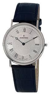 Наручные <b>часы ROMANSON TL5110SMW</b>(<b>WH</b>) — купить по ...