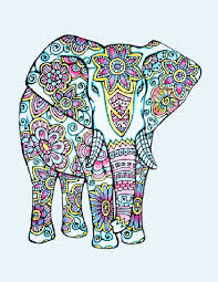 Small Picture 43 best Adult Coloring Pages ELEPHANTASY images on Pinterest