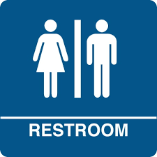 Image result for non gender bathroom signs