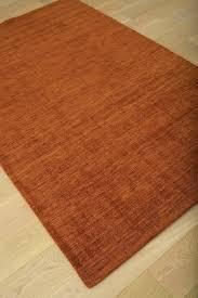 round orange rug pleasant burnt area rugs for