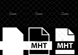 Mht Design File Name Extension Mht Icons By Canva