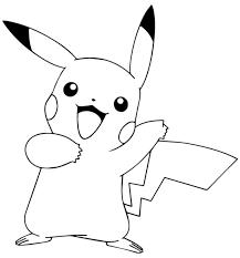 pokémon pikachu coloring pages