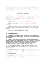 Consultancy Template Free Download Consultant Contract Template Free Download Design Ideas Consulting