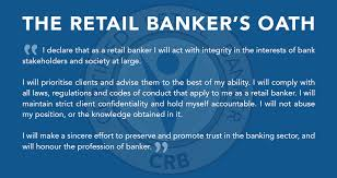 retail banker code of ethics and professional conduct