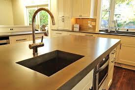 cheng concrete countertops kitchen counter modern kitchen counter can you refinish a cast concrete