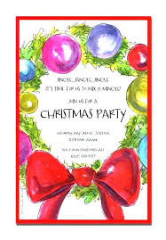 Office Holiday Party Invitation Wording Feat Images End Of The Year