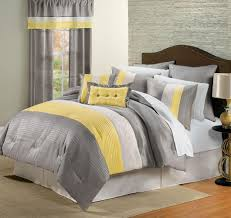 nice grey bedroom ideas with various accent design and yellow home decor blue gray paint decorating