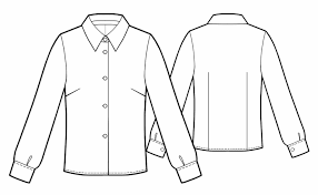How To Draw Girl Shirts Girl Shirt Sketch How To Draw Girls Clothing How To Draw Clothing