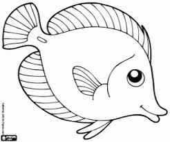 Small Picture Fish coloring pages printable games