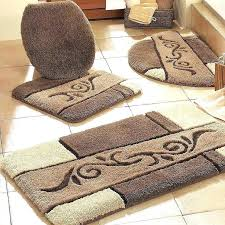 gold bath rugs bathroom best of contour rug metallic