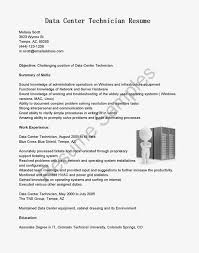 Network Technician Resume Sample Cover Letter For Network