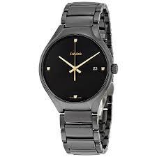 rado true black dial black ceramic men s watch r27238712 true rado true black dial black ceramic men s watch r27238712