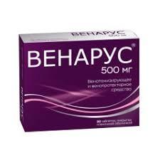 <b>Венарус</b> таблетки п.о <b>500мг</b> №<b>30</b> купить в Москве по цене от 583 ...