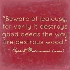 hasad envy and jealousy in and