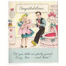 New Baby Congratulation Cards Baby Nursery Vintage 1940s Used Hallmark New Baby Congratulations
