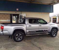 Decal sticker stripe For TOYOTA TACOMA side steps 2013 2017 2016 ...