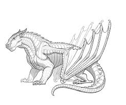 wings of fire coloring pages creativemove me skywing dragon from wings of fire coloring page free printable and wings of fire nightwing