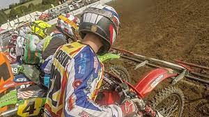 Neil Prince pulls massive holeshot on a 1996 RM250 two-stroke: 2019 VMXdN  highlights | Dirtbike Rider