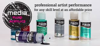 Decoart Media Fluid Acrylics