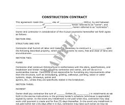 Simple Contractor Contract Chakrii