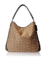 Coach Outline Signature Phoebe Shoulder Bag 36184  Handbags  Amazon.com