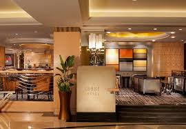 hotel lobby lighting. led strip lights used for indirect cove lighting in this hotel lobby lounge indirectlighting i