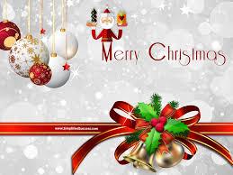Merry Christmas Wallpaper For Desktop Free Download Free