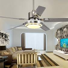 2019 5 blades indoor ceiling fan light with remote control brushed nickel ceiling fan 42 48 52 inch from alluring 286 37 dhgate com