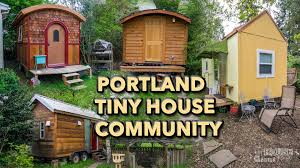 Tiny House Community In Portland - FREECYCLE USA  Pinterest