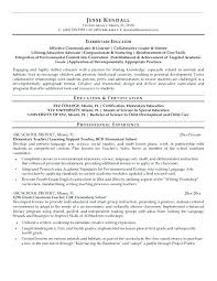 High School Teacher Resume Examples – Resume Example Collection