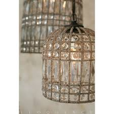 Eloquence Reproduction Birdcage Chandelier