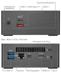 Gb Bri5h 8250 Rev 1 0 Mini Pc Barebone Brix