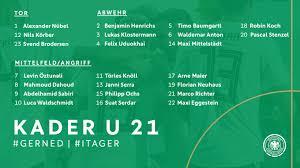 So könnte die aufstellung von jogi löw aussehen. Kuntz Nominiert U 21 Kader Fur Spiele Gegen Niederlande Und Italien Dfb Deutscher Fussball Bund E V