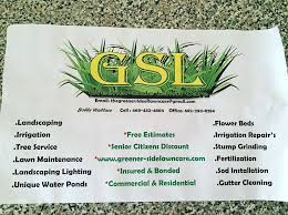 greener side lawn care landscaping 951 s peachtree rd mesquite tx phone number yelp