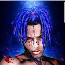 XXXTENTACION Blue Hair Wallpapers ...