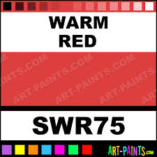 warm red paint