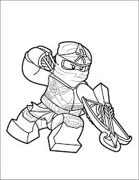 LEGO Ninjago Coloring Page - Skylor - The Brick Show