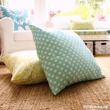 Fine Floor Pillows Diy To Make Super Quick And Easy Giant Intended Design Decorating