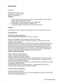 Sample Resume For Sales Executive Fmcg Resume Resume Sample Resumes