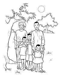 Small Picture Family Members Coloring Pages free printable coloring page Family