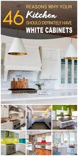 White Kitchen Furniture 46 Best White Kitchen Cabinet Ideas For 2017