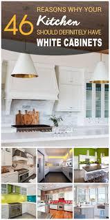 Kitchen Furniture White 46 Best White Kitchen Cabinet Ideas For 2017