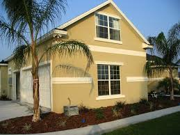 Stucco With Border  Ocala Faux Finish - Exterior stucco finishes