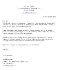 sample resignation letter – smart lettersteacher resignation letter  receiptionist resignation letter