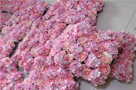 wall display wedding decor home wedding decorations artificial dried flowers