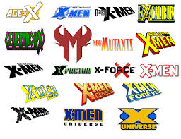 X-Men Comic Logo Icons Vol 2 by Meganubis on DeviantArt