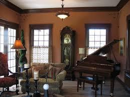 paint colors with dark wood trimGolden Oak Trim Dark Wood Fascinating Dining Room Paint Colors