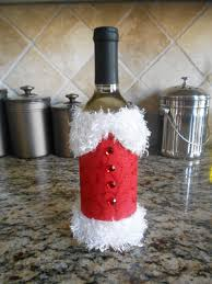 How To Decorate A Wine Bottle For Christmas Christmas Wine Bottle Just Shy of Perfection 93
